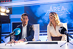 Danae Boronat and Carlos Martinez during the presentation of the strategic alliance between Movistar and Laliga<br /> October 4, 2019. <br /> (ALTERPHOTOS/David Jar)