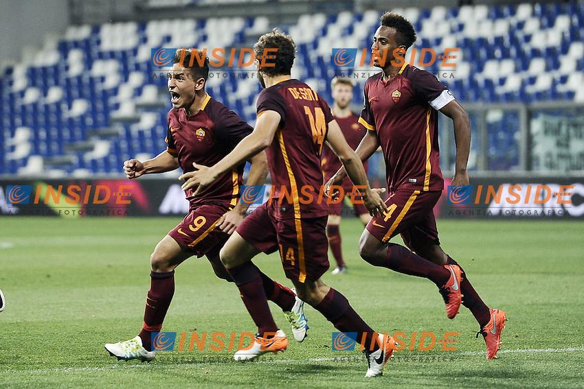 Reggio Emilia 04-06-2016 - finale Campionato Primavera / Roma-Juventus / foto Daniele Buffa/Image Sport/Insidefoto<br /> nella foto: esultanza gol Ezequiel Ponce