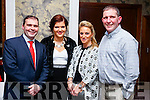John, Stephanie, Melissa and Martin Nix. pictured at the Kerins O'Rahilly's social held at Fels Point Hotel, Tralee on Saturday night last