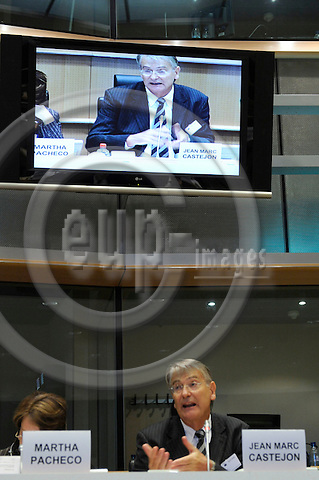 Brussels-Belgium - 30 January 2009 -- THE EUROPEAN QUALIFICATIONS FRAMEWORK LINKING TO A GLOBALISED WORLD, an international conference held by the European Training Foundation (ETF) at the European Parliament; here, session 3 with  Jean-Marc Castejon from ETF -- Photo: Horst Wagner / eup-images
