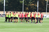 Besprechung Eintracht - 05.09.2018: Eintracht Frankfurt Training, Commerzbank Arena, DISCLAIMER: DFL regulations prohibit any use of photographs as image sequences and/or quasi-video.