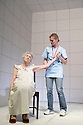 Love and Information by Caryl Churchill, directed by James MasDonald.  God with Susan Engel, Sarah Woodward. Opens at The Royal Court Theatre Downstairs  on 14/9/12.CREDIT Geraint Lewis