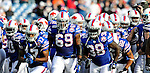 29 November 2009: The Buffalo Bills prepare to face the Miami Dolphins at Ralph Wilson Stadium in Orchard Park, New York. The Bills defeated the Dolphins 31-14. Mandatory Credit: Ed Wolfstein Photo