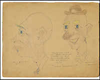 BNPs.co.uk (01202 558833)<br /> Pic: Bonhams/BNPS<br /> <br /> A one-of-a-kind scrapbook containing legendary cartoonist Walt Disney's earliest drawings that hint at the origins of Mickey Mouse has emerged for sale for a staggering &pound;130,000.<br /> <br /> The incredible notebook features five pages of patriotic WWI artwork drawn by Disney in 1918 when he was just a 17-year-old amateur cartoonist.<br /> <br /> Disney drew the sketches in a scrapbook handed out by the Chicago Public Library to families of First World War servicemen - and experts say they are the earliest Disney drawings ever to come to market. <br /> <br /> The scrapbook is tipped to fetch $200,000 - around &pound;130,000 - when it goes under the hammer at Bonhams auctioneers on November 23.