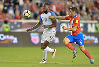 Harrison, N.J. - Friday September 01, 2017:   Jozy Altidore during a 2017 FIFA World Cup Qualifying (WCQ) round match between the men's national teams of the United States (USA) and Costa Rica (CRC) at Red Bull Arena.
