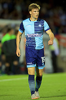 Dayle Southwell of Wycombe Wanderers during the Friendly match between Aldershot Town and Wycombe Wanderers at the EBB Stadium, Aldershot, England on 26 July 2016. Photo by Alan  Stanford.