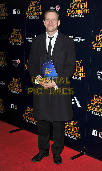 LONDON, ENGLAND - APRIL 02: Robert Webb  attend the Dirty Rotten Scoundrels gala night, Savoy Theatre, The Strand, London, England 2nd April 2014.<br /> CAP/PP/GM<br /> &copy;Gary Mitchell/PP/Capital Pictures