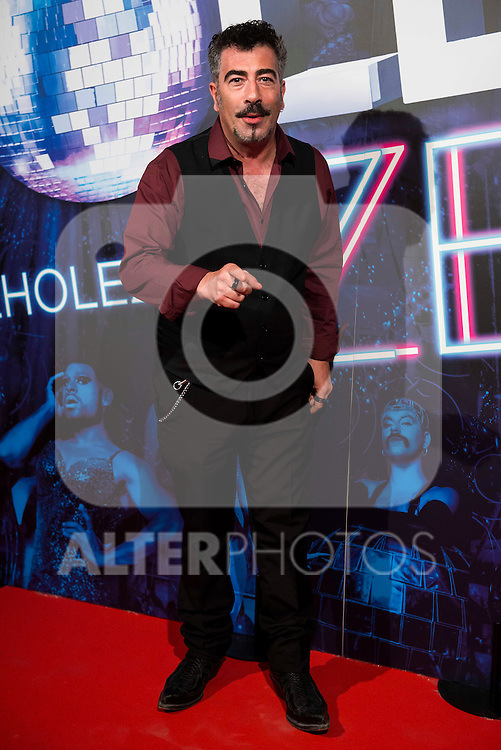 Agustin Jimenez attends to the premiere of the The Hole Zero Show at Teatro Calderon in Madrid. October 04, 2016. (ALTERPHOTOS/Borja B.Hojas)