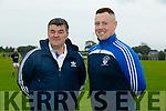Justin Horgan, (Chairman) and captain Darren Delaney of St Brendan Hurling Club, Ardfert at the Media Night on Thursday