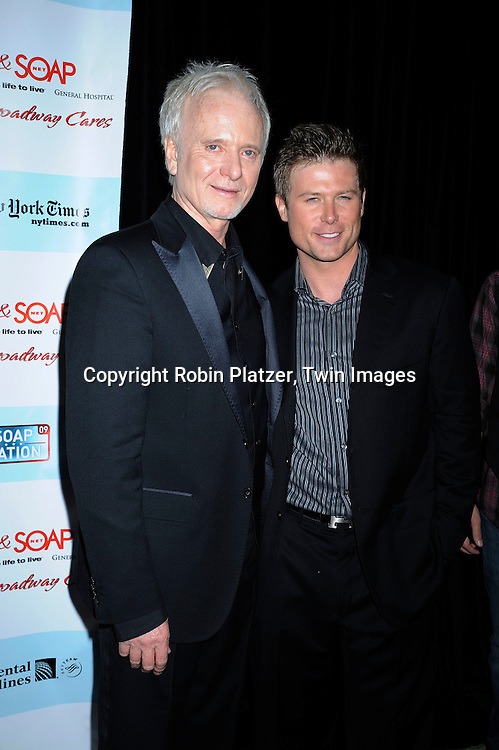 Anthony Geary and Jacob Young
