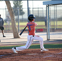 Hector Mangual takes part in the 2020 Under Armour Pre-Season All-America Tournament at the Chicago Cubs training complex and Red Mountain baseball complex on January 18-19, 2020 in Mesa, Arizona (Bill Mitchell)