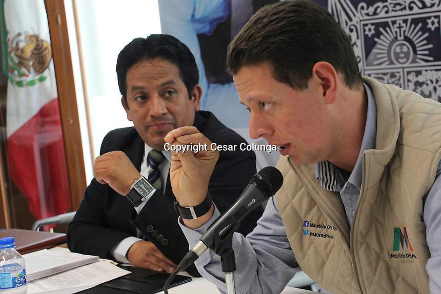 Querétaro, Qro. 6 de diciembre de 2016.- Aspectos de los trabajos de la Comisión legislativa de Planeación y Presupuesto en el Congreso local.