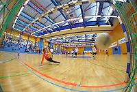 Die U11-Junioren des FSV Frankfurt spielen am Samstag, 07.01.12, beim 26. Euro-Cup in Herten gegen die SG Wattenscheid 09 (Endergebnis 3:1). 16 Teams aus Deutschland, D&auml;nemark und Polen nahmen am 26. Euro-Cup der U11-Junioren teil.<br /> Foto: Rainer Raffalski / WAZ FotoPool