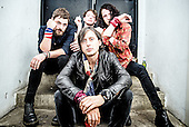 Oct 10, 2015: CARL BARAT and the JACKALS - photosession in London