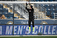 Chester, PA - Sunday December 10, 2017: Stanford University Nico Corti during the NCAA 2017 Men's College Cup championship match between the Stanford Cardinal and the Indiana Hoosiers at Talen Energy Stadium.