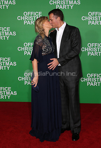 "Westwood, CA - DECEMBER 07: Molly Sims, Scott Stuber, At Premiere Of Paramount Pictures' ""Office Christmas Party"" At Regency Village Theatre, California on December 07, 2016. Credit: Faye Sadou/MediaPunch"