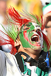 23 JUN 2010: An Algeria fan, pregame. The United States National Team played the Algeria National Team at Loftus Versfeld Stadium in Tshwane/Pretoria, South Africa in a 2010 FIFA World Cup Group C match.