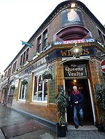 The Queen's Vaults is in the Cardiff City Centre. Cardiff Cider pub of the Year 2019.