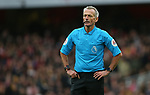 Referee Martin Atkinson during the Premier League match at the Emirates Stadium, London. Picture date: 7th March 2020. Picture credit should read: Paul Terry/Sportimage
