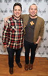"Oliver Butler and Jordan Harrison attend the Meet & Greet for the cast of ""The Amateurs"" at the Shelter Studios on January 9, 2018 in New York City."