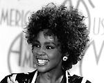 Whitney Houston 1987 American Music Awards