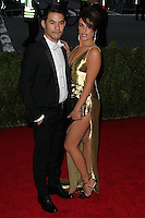 """NEW YORK CITY, NY, USA - MAY 05: Joseph Altuzarra, Lea Michele at the """"Charles James: Beyond Fashion"""" Costume Institute Gala held at the Metropolitan Museum of Art on May 5, 2014 in New York City, New York, United States. (Photo by Xavier Collin/Celebrity Monitor)"""