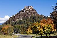 Oesterreich, Kaernten, Hochosterwitz: Burg Hochosterwitz | Austria, Carinthia, Hochosterwitz: castle Hochosterwitz