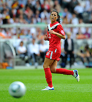 Emily Zurrer of Canada during the FIFA Women's World Cup at the FIFA Stadium in Berlin, Germany on June 26th, 2011.