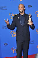Common at the 72nd Annual Golden Globe Awards at the Beverly Hilton Hotel, Beverly Hills.<br /> January 11, 2015  Beverly Hills, CA<br /> Picture: Paul Smith / Featureflash