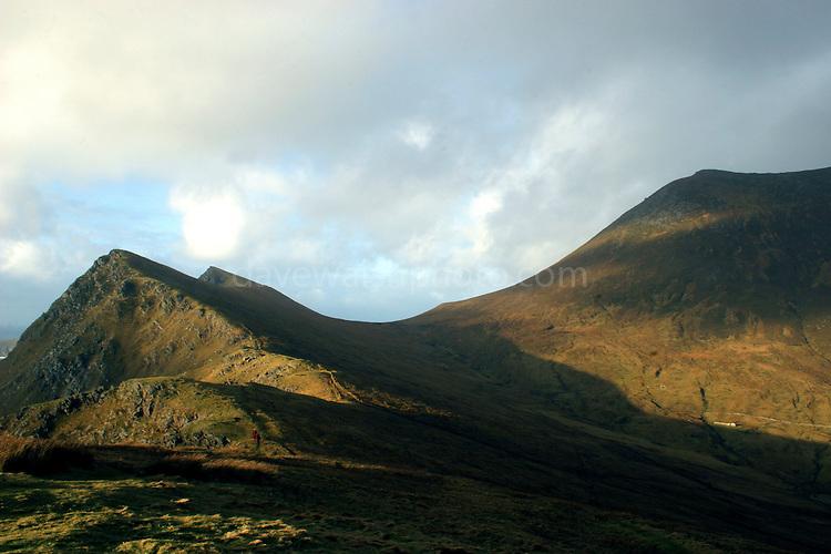 Mountains near Keem Bay, Achill Island