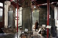 CHINA, Province Shaanxi, city Xian, stele museum / Stelen Museum, hier befindet sich eine  nesotorianische Stele eines der aeltesten Zeugnisse christlicher Mission (Nestorianismus) in China