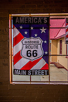 1930's Phillips 66 Gas Station in downtown Baxter Springs is being restored as the Route 66 visitor center.