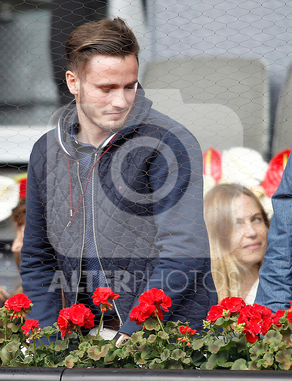 Atletico de Madrid's Saul Niguez during Madrid Open Tennis 2016 match.May, 6, 2016.(ALTERPHOTOS/Acero)