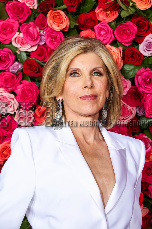NEW YORK, NY - JUNE 10:  Christine Baranski attends the 72nd Annual Tony Awards at Radio City Music Hall on June 10, 2018 in New York City.  (Photo by Walter McBride/WireImage)
