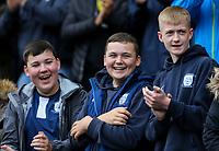 Preston North End fans await kick off<br /> <br /> Photographer Alex Dodd/CameraSport<br /> <br /> The EFL Sky Bet Championship - Preston North End v Bristol City - Saturday 28th September 2019 - Deepdale Stadium - Preston<br /> <br /> World Copyright © 2019 CameraSport. All rights reserved. 43 Linden Ave. Countesthorpe. Leicester. England. LE8 5PG - Tel: +44 (0) 116 277 4147 - admin@camerasport.com - www.camerasport.com