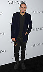 HOLLYWOOD, CA - MARCH 27: Evan Ross  arrives at the Valentino 50th Anniversary And New Flagship Store Opening On Rodeo Drive at Valentino Boutique on March 27, 2012 in Beverly Hills, California.