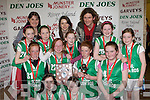 Firies NS who won the District NS Girls Senior A final at the St Mary's Basketball Blitz in Castleisland on Wednesday front row l-r: Kerri Sheahan, miriam goulding. Middle row: Laura Murphy, Laura Quinn, Sarah Murphy, Lucy O'Rourke. Back row: Christina O'Connor, Eileen Brosnan,Michelle Cooper, Aine Kerrisk, Louise O'Connor Miss Basketball, Andrew Fitzgerald, Ellen Hickey, Alison O'Sullivan
