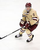 Patrick Wey (BC - 6) - The Boston College Eagles defeated the visiting University of New Hampshire Wildcats 4-3 on Friday, January 27, 2012, in the first game of a back-to-back home and home at Kelley Rink/Conte Forum in Chestnut Hill, Massachusetts.