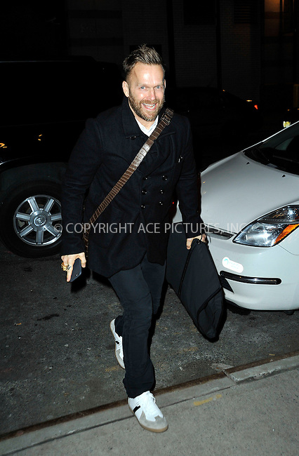WWW.ACEPIXS.COM<br /> <br /> January 13 2015, New York City<br /> <br /> Bob Harper made an appearance at 'Watch What Happens Live' on January 13 2015 in New York City<br /> <br /> By Line: Curtis Means/ACE Pictures<br /> <br /> <br /> ACE Pictures, Inc.<br /> tel: 646 769 0430<br /> Email: info@acepixs.com<br /> www.acepixs.com