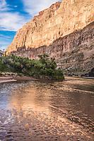 Beach sand patterns, Grand Canyon National Park, Arizona, Colorado River