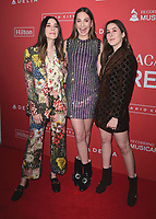 NEW YORK - JANUARY 26:  Haim at the 2018 MusiCares Person of the Year honoring Fleetwood Mac at Radio City Music Hall on January 26, 2018 in New York, New York. (Photo by Scott Kirkland/PictureGroup)