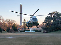 JAN 18 Trump Arrives at the White House