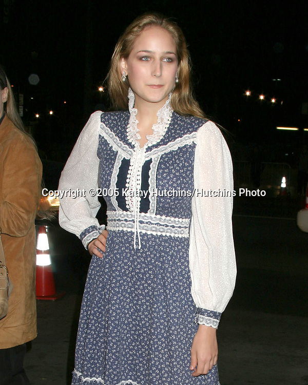 Leelee Sobieski.I Walk the Line Concert - Tribute to Johnny Cash.Pantages Theater.Los Angeles, CA.October 25, 2005.©2005 Kathy Hutchins / Hutchins Photo