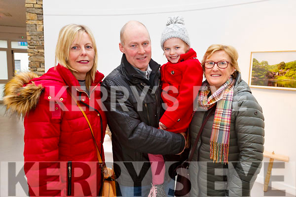 Martina, Eammon and Molly Gaynor from Kilmoyley and Noreen O'Brien (Abbeydorney) attending the Kerry School of Music's Ballet Spectacular show in Siamsa Tire on Sunday afternoon last.