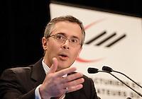 Thierry Vandal, pr&Egrave;sident  directeur general , Hydro Quebec <br /> Photo : Delphine Descamps - Images Distribution