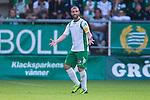 Stockholm 2013-06-23 Fotboll Superettan , Hammarby IF - &Auml;ngelholms FF :  <br /> Hammarby 10 Kennedy Bakircioglu reagerar<br /> (Foto: Kenta J&ouml;nsson) Nyckelord:  portr&auml;tt portrait
