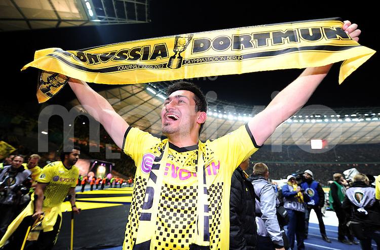 FUSSBALL      DFB POKAL FINALE       SAISON 2011/2012 Borussia Dortmund - FC Bayern Muenchen   12.05.2012 Ilkay Guendogan (Borussia Dortmund)