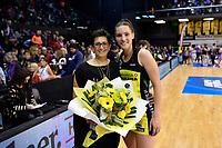 Pulse Coach Yvette McCausland-Durie and Pulse&rsquo; Karin Burger, ANZ Premiership - Pulse v Stars at TSB Arena, Wellington, New Zealand on Monday 13 May 2019. <br /> Photo by Masanori Udagawa. <br /> www.photowellington.photoshelter.com