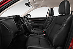 Front seat view of 2016 Mitsubishi Outlander Intense Premium 5 Door SUV Front Seat  car photos