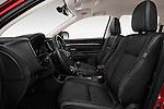Front seat view of 2016 Mitsubishi Outlander Intense Premium 5 Door SUV Front Seat  car photos
